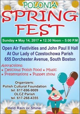 Spring Fest, May 14